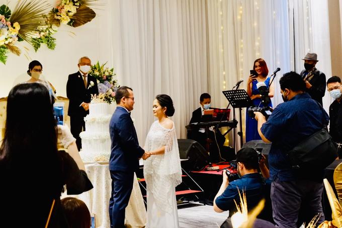 New Normal Wedding Jesi & Ju Patric by Mercure Jakarta Sabang - 027