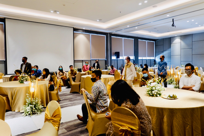 New Normal Wedding Jesi & Ju Patric by Mercure Jakarta Sabang - 028