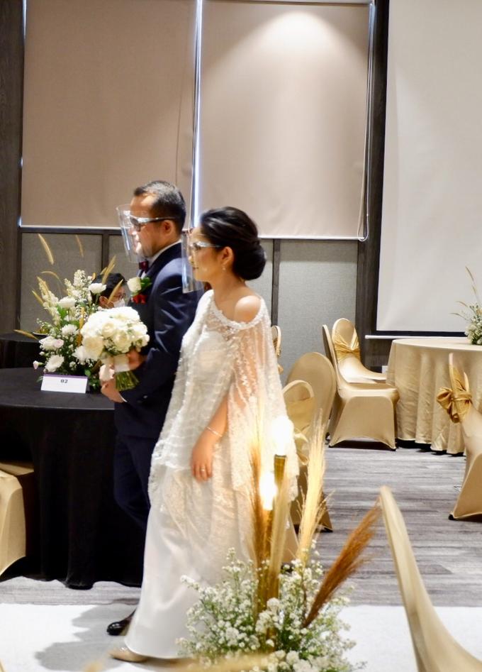 New Normal Wedding Jesi & Ju Patric by Mercure Jakarta Sabang - 029