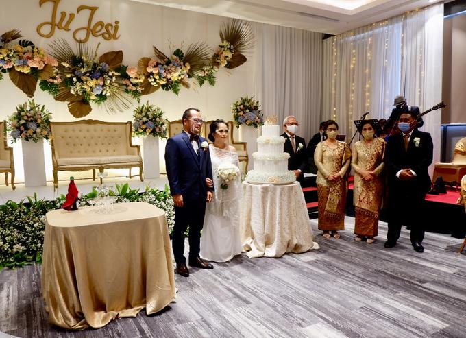 New Normal Wedding Jesi & Ju Patric by Mercure Jakarta Sabang - 030