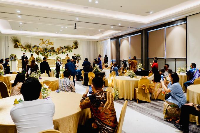 New Normal Wedding Jesi & Ju Patric by Mercure Jakarta Sabang - 031