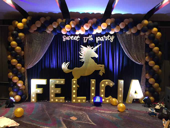 Sweet 17 th with social distancing by Mercure Jakarta Sabang - 009