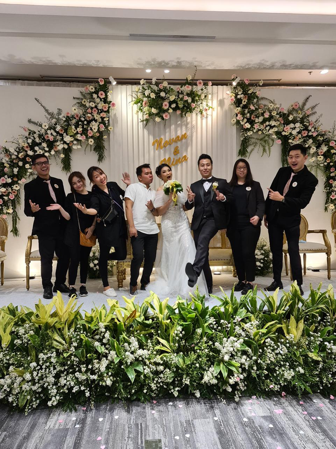 The Wedding Of Ms. Nina & Mr. Novan by Mercure Jakarta Sabang - 018