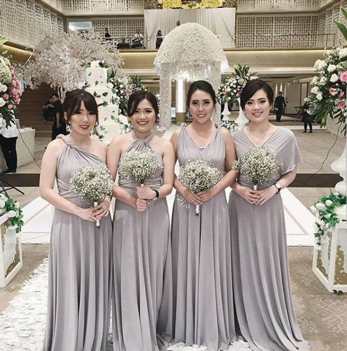 BILLIE MERRIE WEDDING by bridestore indonesia - 003