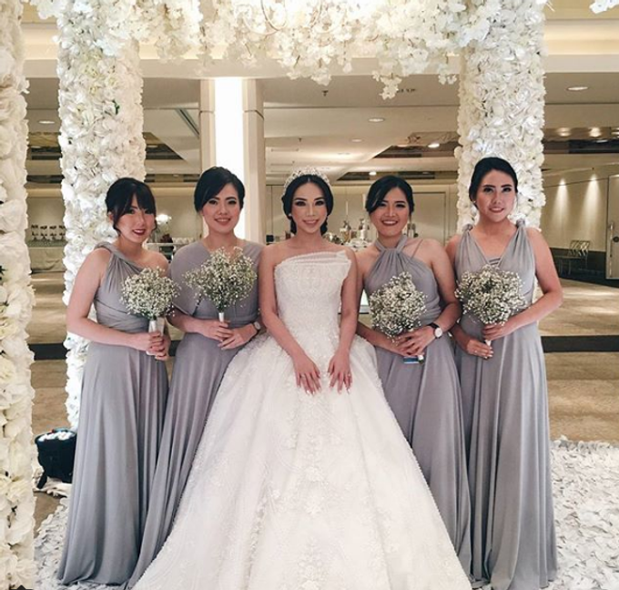 BILLIE MERRIE WEDDING by bridestore indonesia - 005