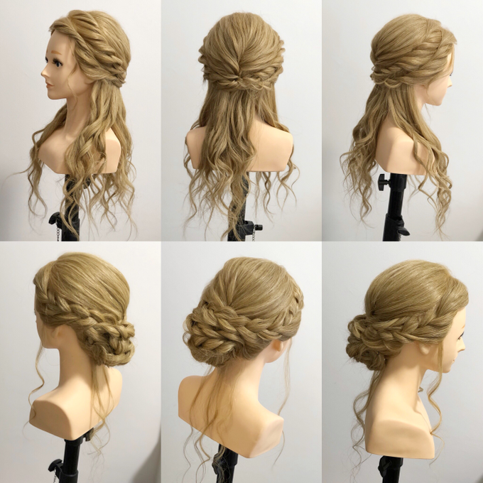 Hairstyle Reference By Merryfish Makeup And Hair Bridestory Com