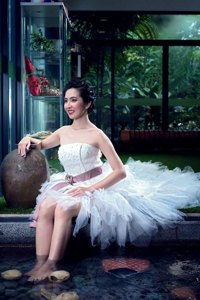 Natural Korean Bridal Look by Beautistylebykoreen - 005