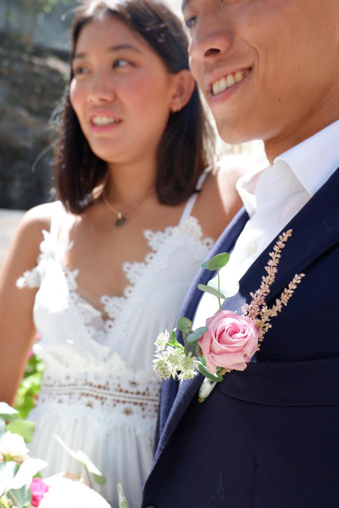 Rustique Bridal Bouquet by Mfreshflowers - 006
