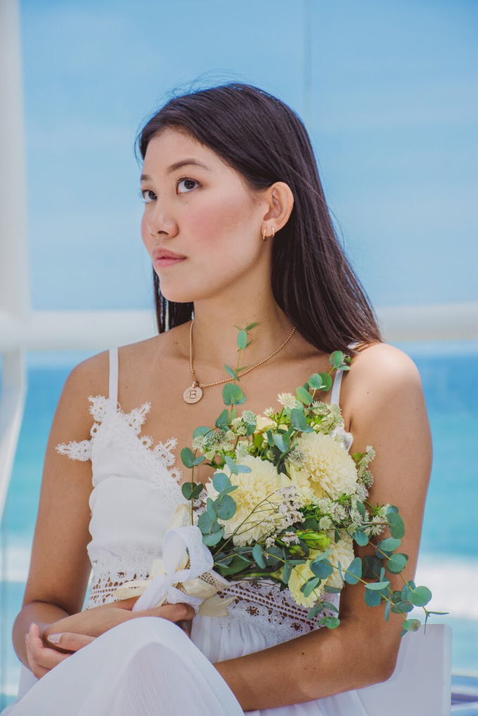 Petite And Sweet Bridal Bouquet by Mfreshflowers - 002