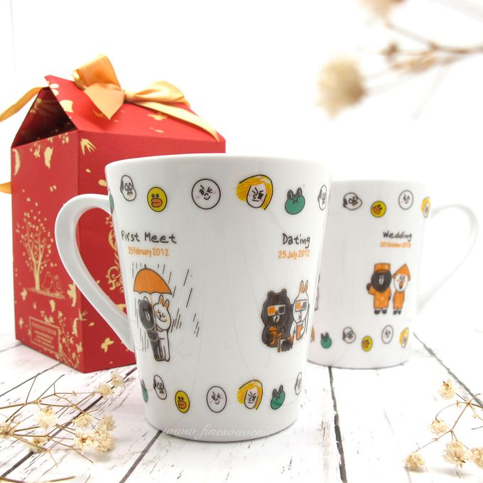 Con Mug Include Paperbag & Printing Decal by Fine Souvenir - 002