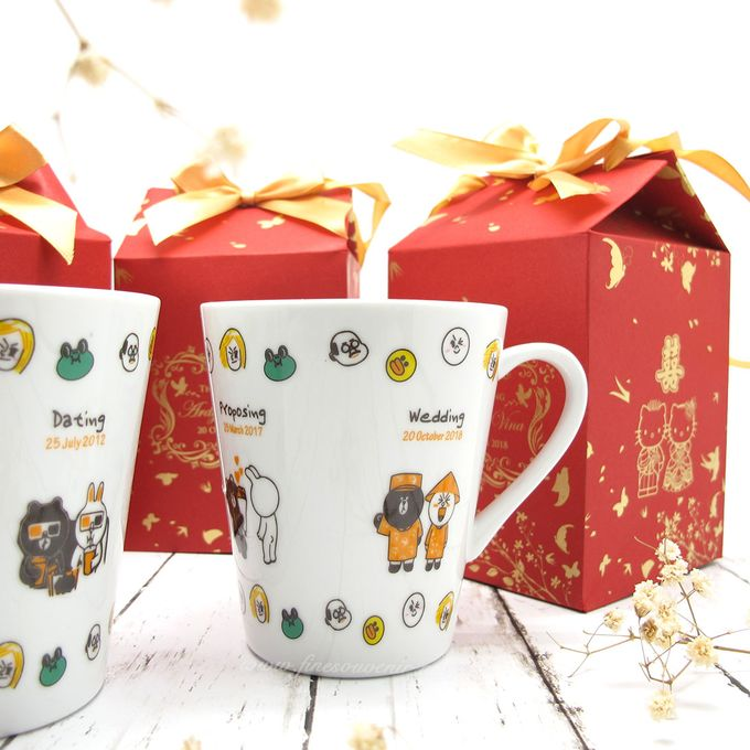 Con Mug Include Paperbag & Printing Decal by Fine Souvenir - 003
