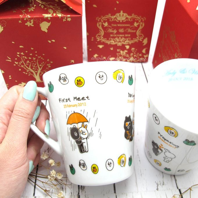 Con Mug Include Paperbag & Printing Decal by Fine Souvenir - 001