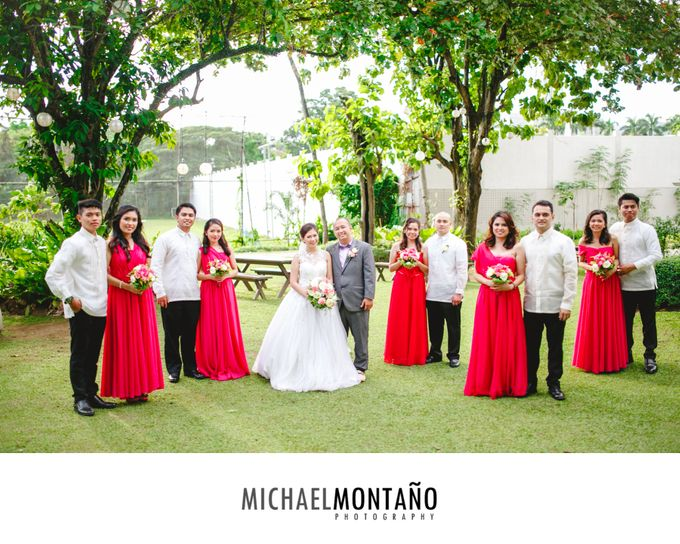 Gecyl & Melvin Wedding Day by Michael Montaño Photography - 013