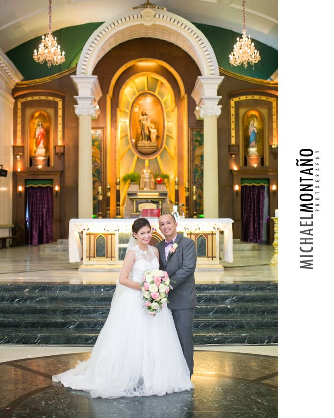 Gecyl & Melvin Wedding Day by Michael Montaño Photography - 034