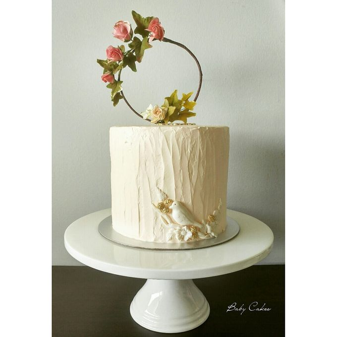 Single tier and multi tiered cakes by Baby Cakes - 028