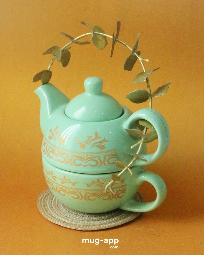 Teksun Mint Fairuuz & Tasya by Mug-App Wedding Souvenir - 001