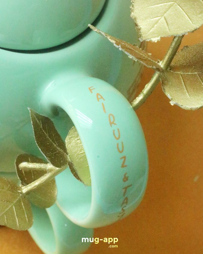 Teksun Mint Fairuuz & Tasya by Mug-App Wedding Souvenir - 002