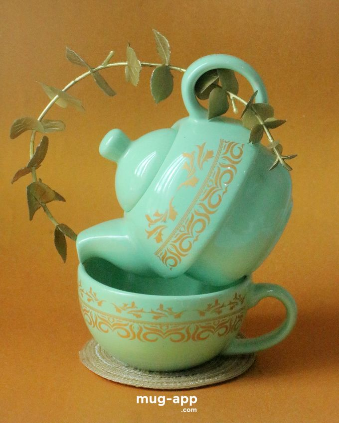 Teksun Mint Fairuuz & Tasya by Mug-App Wedding Souvenir - 004