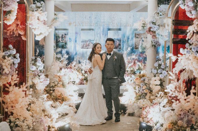 Steven & Catherin Wedding at Aston Cirebon by PRIDE Organizer - 024