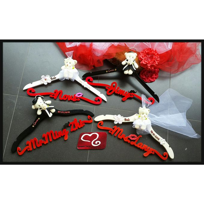 Wedding Hanger Name by Sweetlovecollection - 027