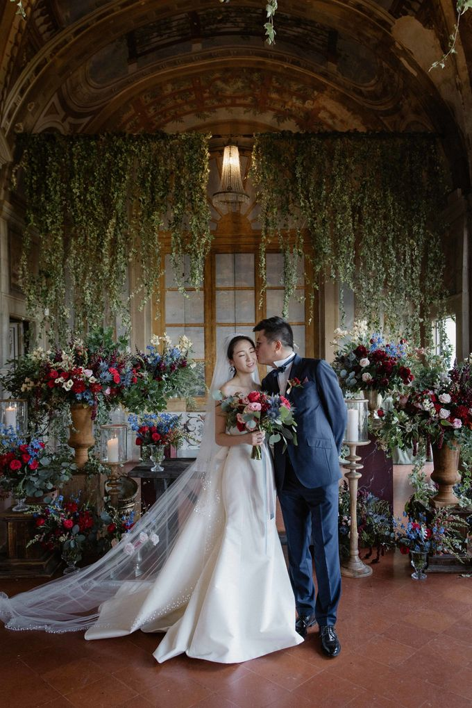 Asian wedding in Italy: when east meets Florence. by Chic Weddings - 014