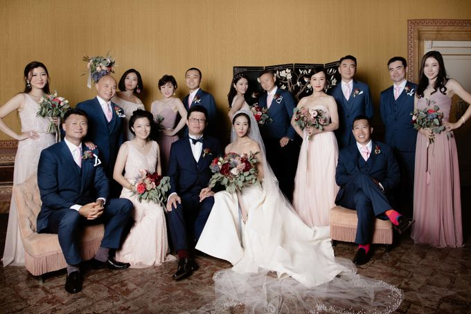 Asian wedding in Italy: when east meets Florence. by Chic Weddings - 016