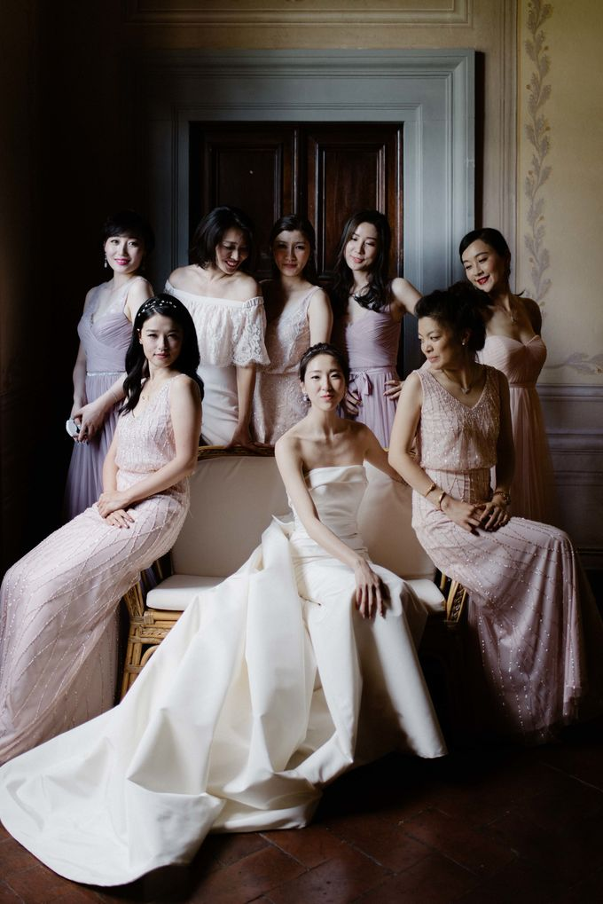 Asian wedding in Italy: when east meets Florence. by Chic Weddings - 007