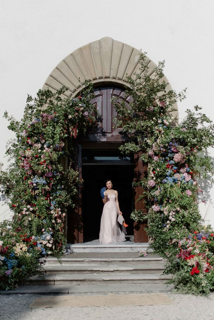 Asian wedding in Italy: when east meets Florence. by Chic Weddings - 008