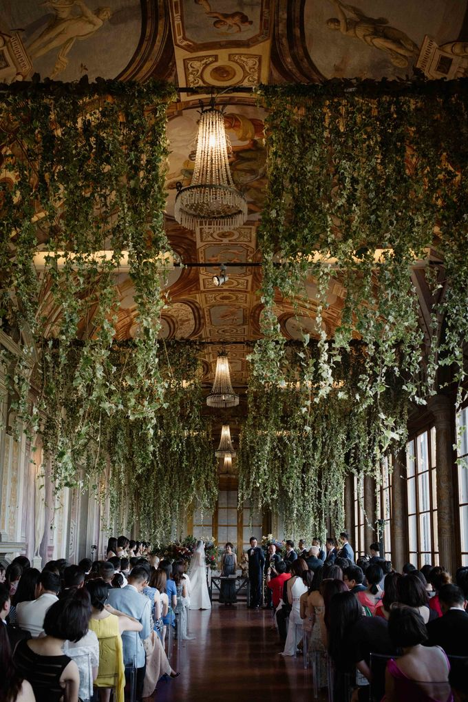 Asian wedding in Italy: when east meets Florence. by Chic Weddings - 010