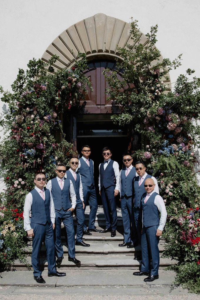 Asian wedding in Italy: when east meets Florence. by Chic Weddings - 011