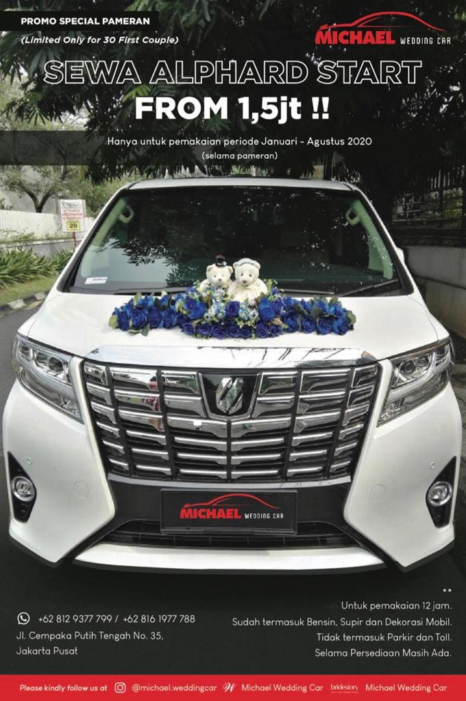 Jakarta Wedding Expo by Michael Wedding Car - 001