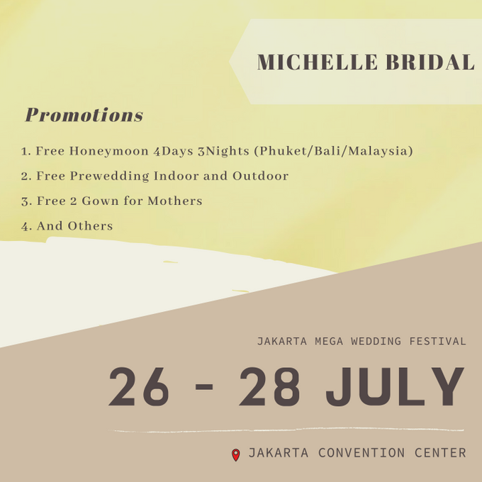 26 - 28 JULY 2019 UPCOMING EXHIBITION by Michelle Bridal - 001