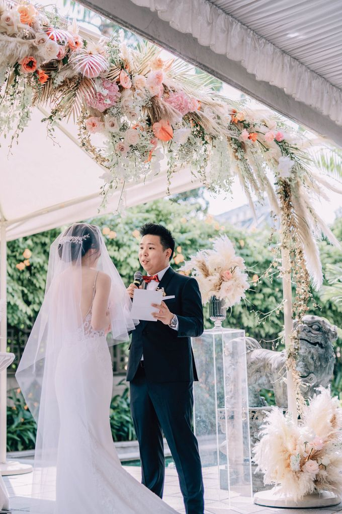 Michelle and Vincent by O'hara Weddings - 003