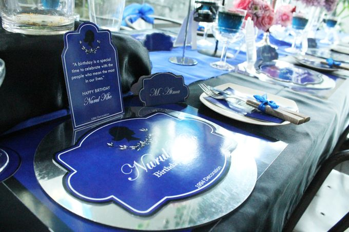 Nurull's Electric Blue Birthday Lunch by 1994 Decoration - 003