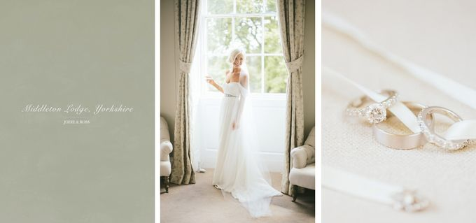 Beautiful country house wedding in Yorkshire, UK by M&J Photography - 001