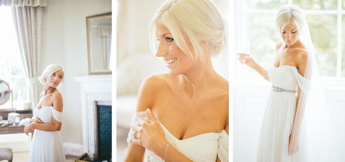 Beautiful country house wedding in Yorkshire, UK by M&J Photography - 005