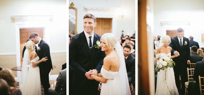 Beautiful country house wedding in Yorkshire, UK by M&J Photography - 006