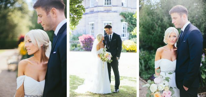 Beautiful country house wedding in Yorkshire, UK by M&J Photography - 011