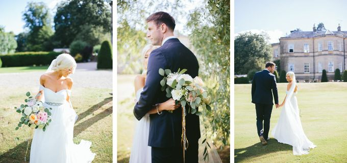 Beautiful country house wedding in Yorkshire, UK by M&J Photography - 012