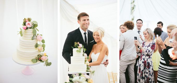 Beautiful country house wedding in Yorkshire, UK by M&J Photography - 015