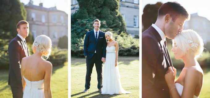 Beautiful country house wedding in Yorkshire, UK by M&J Photography - 016