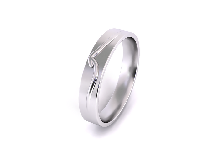 Mieve wedding band by Reine - 005