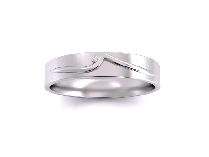 Mieve wedding band by Reine - 003