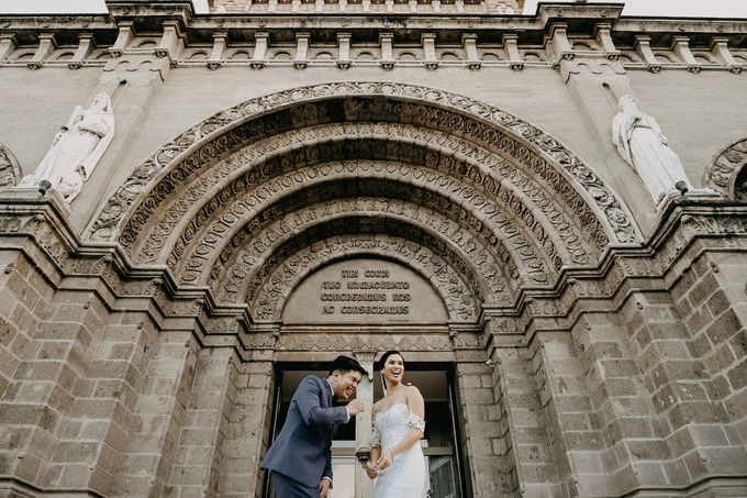 Manila Cathedral Wedding - Miguel and Katrina by I Thee Wed by Fuguwi Collective - 028