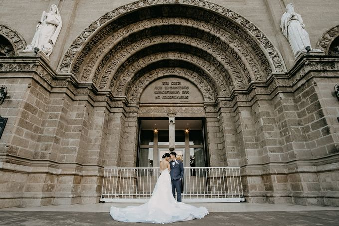 Manila Cathedral Wedding - Miguel and Katrina by I Thee Wed by Fuguwi Collective - 030