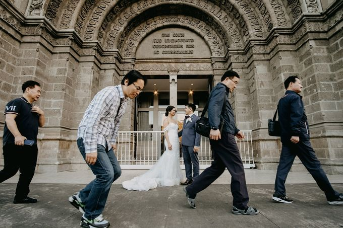 Manila Cathedral Wedding - Miguel and Katrina by I Thee Wed by Fuguwi Collective - 032