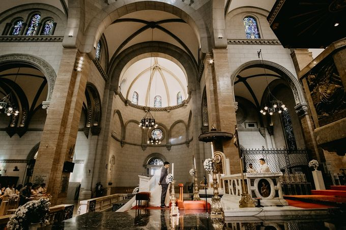 Manila Cathedral Wedding - Miguel and Katrina by I Thee Wed by Fuguwi Collective - 020