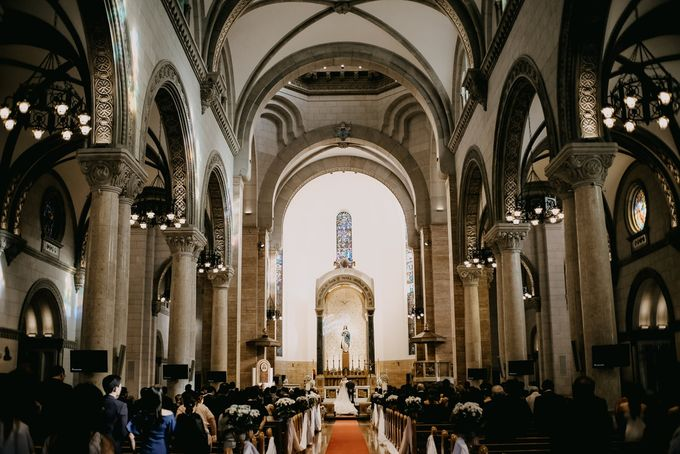 Manila Cathedral Wedding - Miguel and Katrina by I Thee Wed by Fuguwi Collective - 023