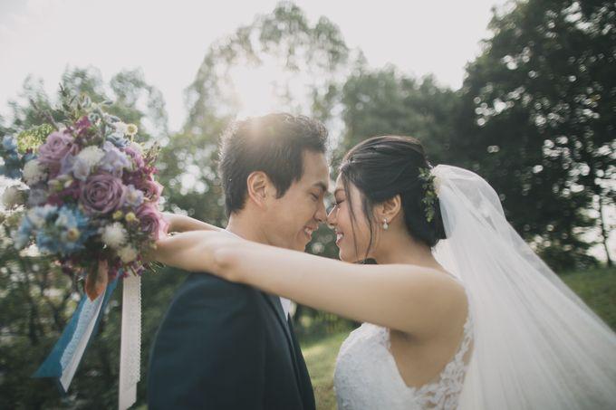 Rustic Purple Pre-wedding Shoot by Gin Tan makeup artist - 001