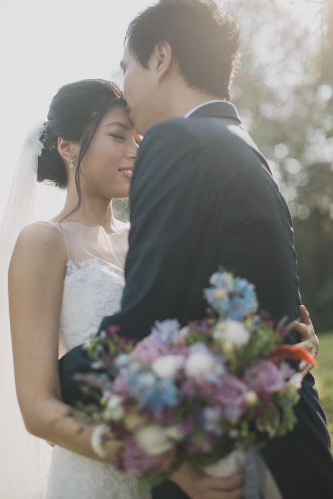 Rustic Purple Pre-wedding Shoot by Gin Tan makeup artist - 002